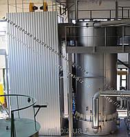 Теплогенератор твердотопливный воздухогрейный 5 МВт на отходах (щепе, опилках, лузге, шелухе, жмыхе, гранулах, пеллетах) с механизированной подачей