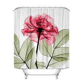 Штора для ванной Роза 180 х 180 см