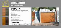 Весь май 2015 акция на секционные гаражные ворота Ryterna