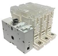 Комбинированный выключатель с предохранителями 22х58 Fuserbloc 100 Ампер 3 пол., фото 1