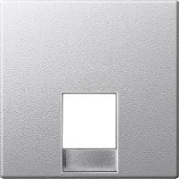 Центральная плата телефонной розетки RJ12 , алюминий Shneider Merten (MTN463560)