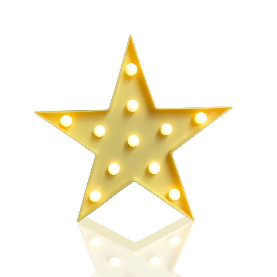 Декоративный Led светильник ночник Звездочка KS Funny Lamp Star - 145851