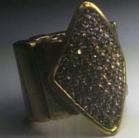 Перстень в стразах  (на резинке) .16