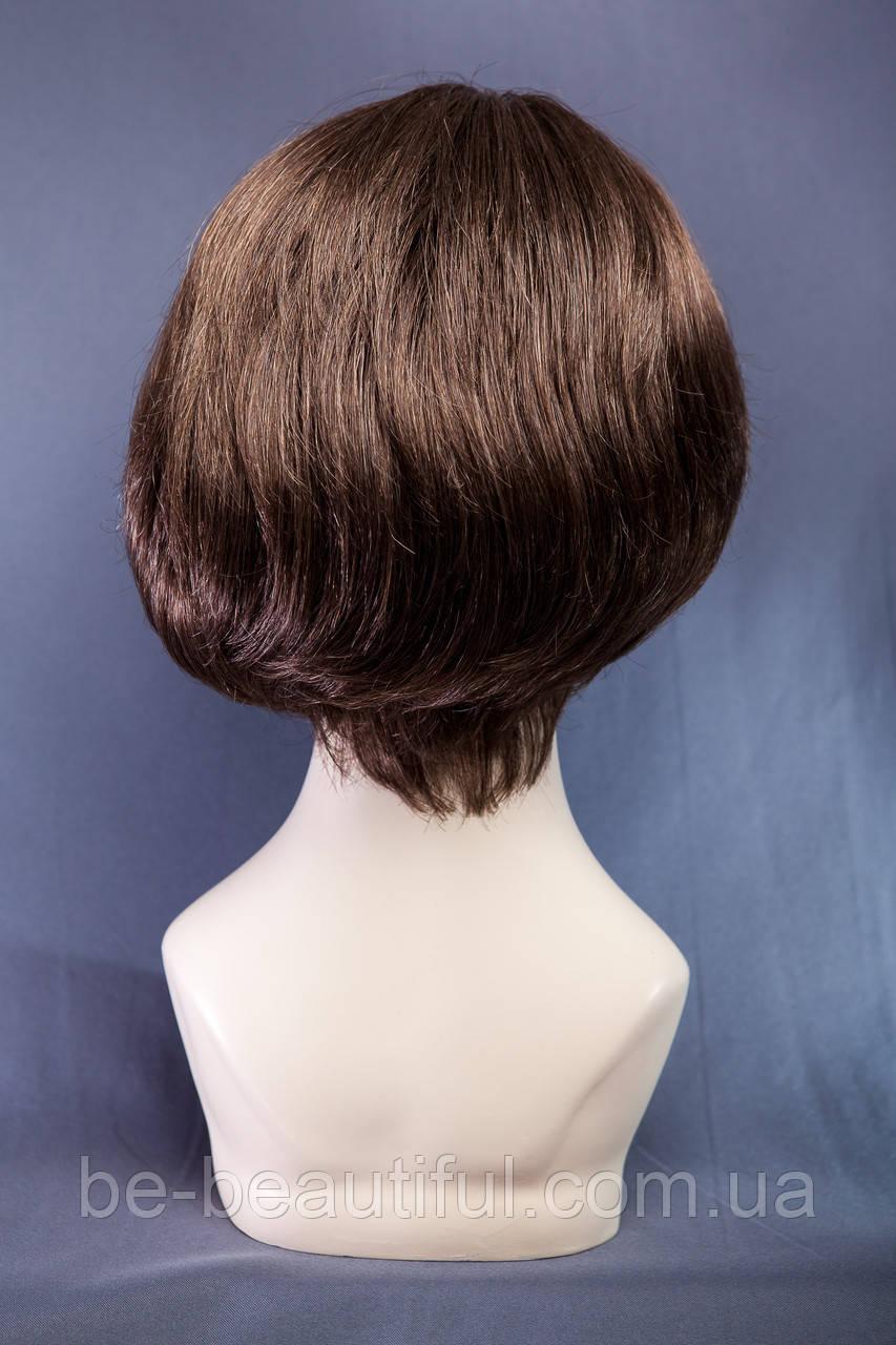 Короткие парики №1,цвет темно-русый