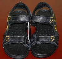 Удобные мужские сандалии из качественной кожи. Натуральная кожа. Мягкие и легкие сандалии. Код: КТМ219