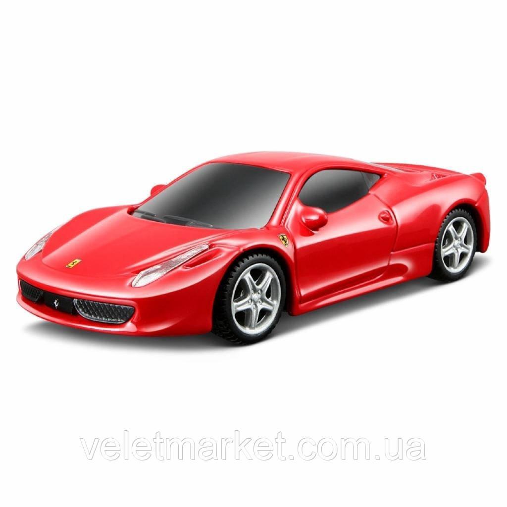 Машина Bburago 458 Italia красный 1:24 (18-26003_red)