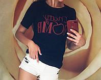 Футболка женская с надписью, фото 1