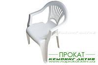 Аренда стул пластиковый
