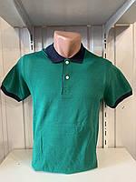 Футболка мужская COLORHAKAN поло комбинированная, размеры M - 3XL,007 \ купить футболку мужскую оптом