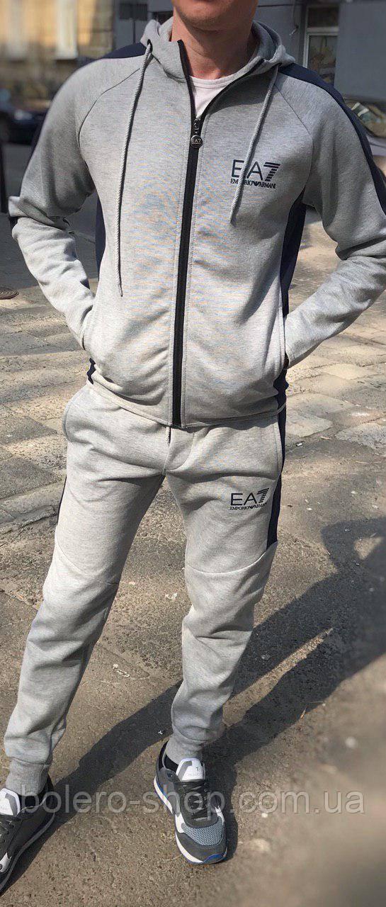 Спортивный костюм Armani ЕА7 серый XXL