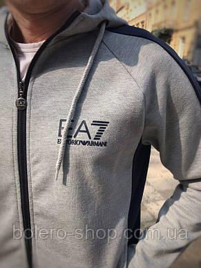 Спортивный костюм Armani ЕА7 серый XXL, фото 2