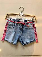 Шорты джинсовые для девочек опт, Seagull, размеры 134-164, арт. CSQ-56907, фото 1