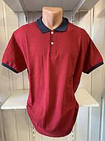 Футболка мужская COLORHAKAN поло комбинированная, размеры 3XL-6XL,004 \ купить футболку мужскую оптом
