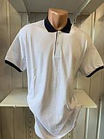 Футболка мужская COLORHAKAN поло комбинированная, размеры 3XL-6XL,005 \ купить футболку мужскую оптом