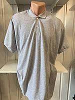 Футболка мужская COLORHAKAN поло однотонная, размеры 3XL-6XL,003 \ купить футболку мужскую оптом