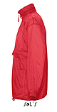 Ветровка SOL'S, красная водонепроницаемая ветровка, фото 3