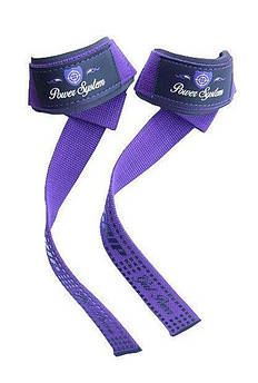 Кистевые ремни Power System G-Power Straps PS-3420 Purple - 145358