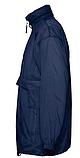 Ветровка SOL'S,синяя водонепроницаемая ветровка, фото 3