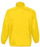Ветровка SOL'S, желтая водонепроницаемая ветровка, фото 3