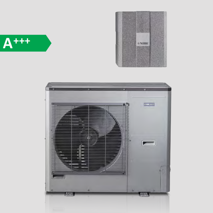 Тепловой насос воздух-вода Nibe SPLIT AMS 10-6 / HBS 05-6 кВт