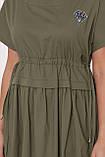 Летнее платье Мелисса оливка, фото 4