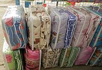 Одеяло шерстяное закрытое в поликотоне  двухспальное  (С.У.М.3 ), фото 1