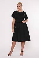 Платье летнее Мелисса черное, фото 1