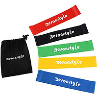 Фитнес резинки EsonStyle - комплект из 5 шт. набор для фитнеса