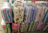 Одеяло шерстяное закрытое в поликотоне  полуторное   (С.У.М.3 ), фото 1