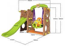 Детский игровой комплекс TB-161 Мишка