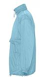 Ветровка SOL'S,  светло-голубая водонепроницаемая ветровка, фото 2