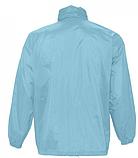 Ветровка SOL'S,  светло-голубая водонепроницаемая ветровка, фото 3