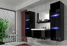 КОМПЛЕКТ МЕБЛІВ у ванну кімнату LUMIA з умивальником із LED підсвіткою