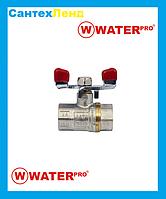 Кран Кульовий 1/2 Water Pro DN 15 PN 20 ГГБ