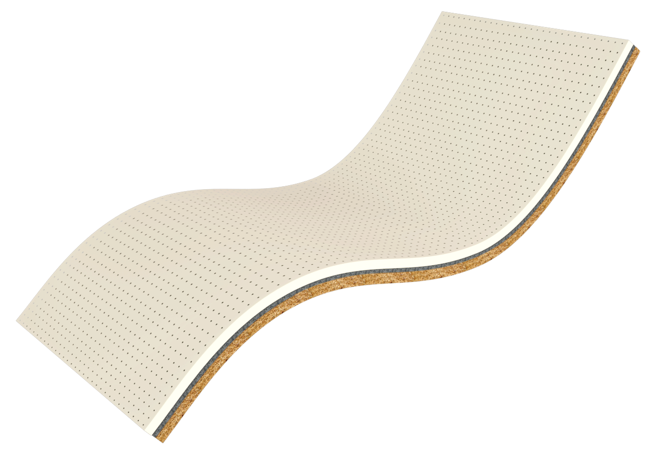 Ортопедический матрас  Ultra Kokos 70x190 см. Take&Go Bamboo