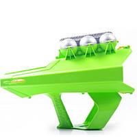 Снежкобластер метатель снежков на 3 снежки KS Magic Shooting Snowball Green SKL25-145944