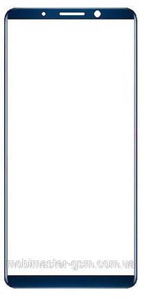 Корпусное стекло на Huawei Mate 10 Pro blue, фото 2