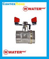 Кран Кульовий 1 Water Pro DN 25 PN 20 ГГБ