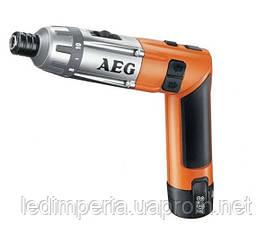 Аккумуляторная отвертка 3,6В AEG SE3, 6 LI