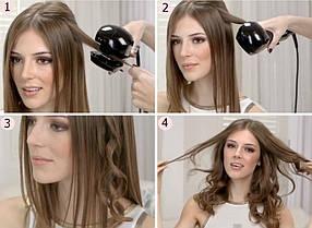 Автоматична плойка стайлер для завивки волосся з 3мя температурними режимами Perfect Curl HT-568 CG24 PR4, фото 3