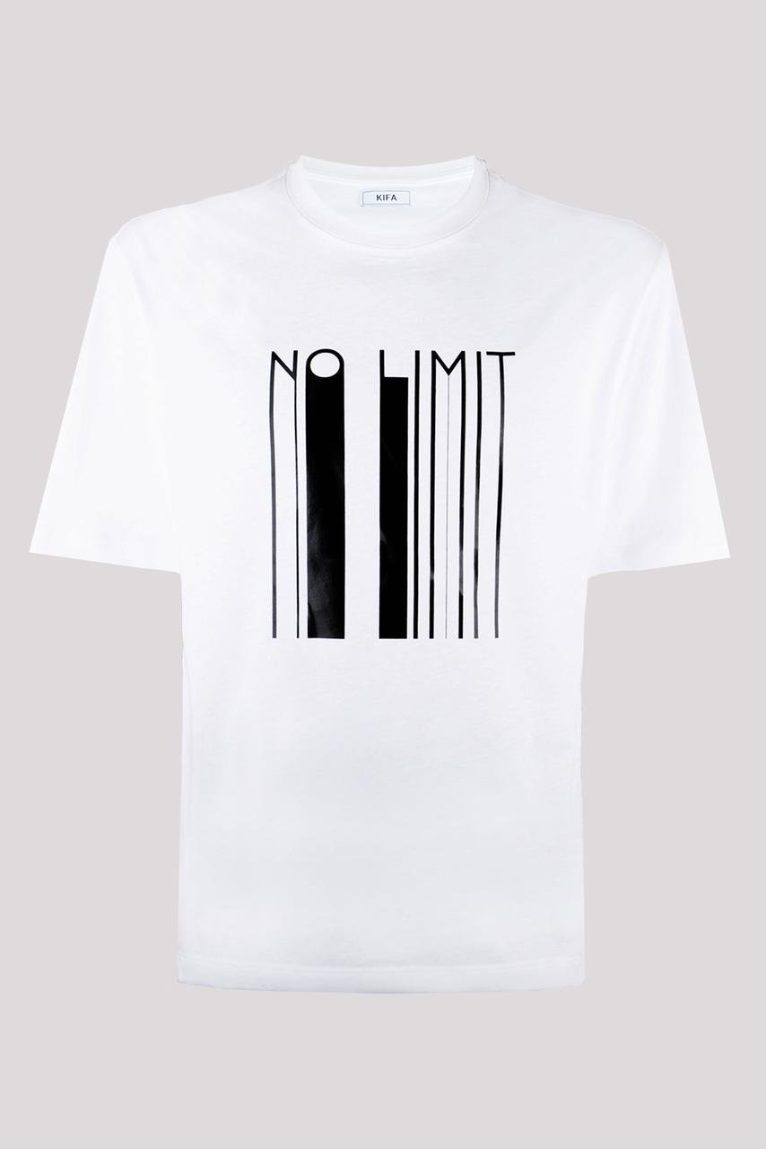 Футболка мужская KIFA ФМХ-019/15 NO LIMIT белая