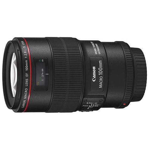 Об'єктив Canon EF 100mm f/2.8 L Macro IS USM
