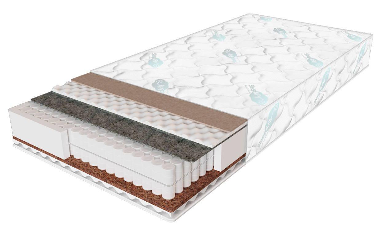 Ортопедический матрас  Daily 2 в 1/Дейли 2 в1 70x190 см. Sleep&Fly