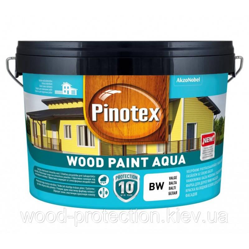 Фарба на водній основі для дерев'яних фасадів Pinotex Wood Paint Aqua (Пинотекс вуд пейнт аква)