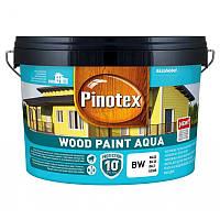 Краска на водной основе для деревянных фасадов Pinotex Wood Paint Aqua (Пинотекс вуд пейнт аква)