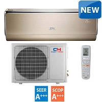 Тепловой насос для системы отопления дома cooper&hunter vip inverter ch-s18ftxhv-b