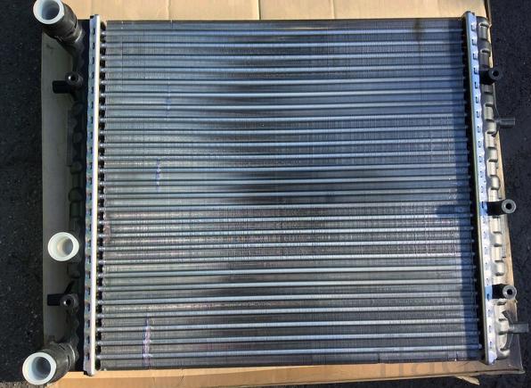 Радиатор Seat Ibiza 4 , 1.0- 1.4 16V AC-430*418