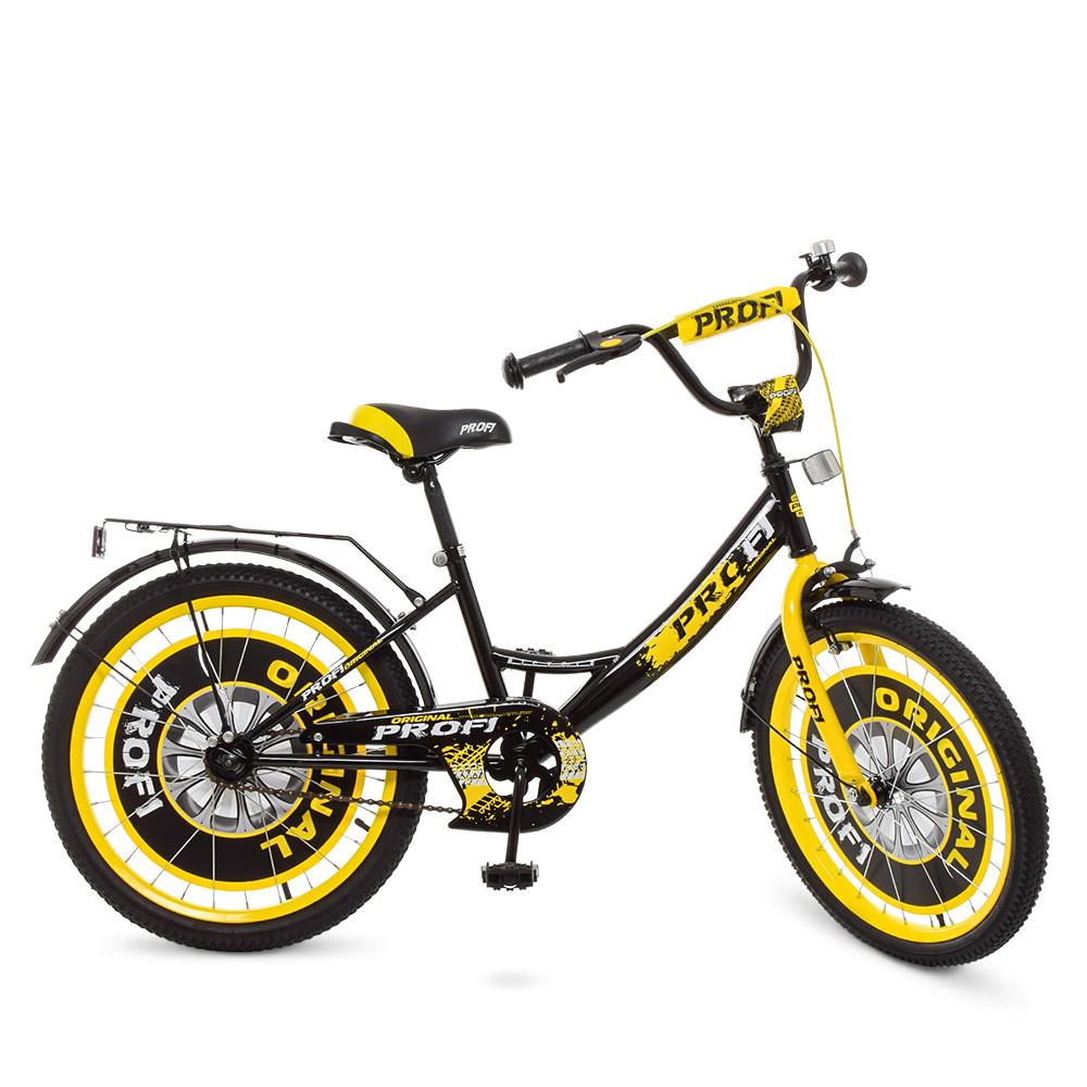 "PROFI Велосипед PROFI 20"" Y2043 Black Yellow (Y2043)"