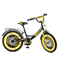"PROFI Велосипед PROFI 20"" Y2043 Black Yellow (Y2043), фото 1"