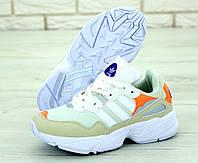 """Кроссовки мужские/женские Adidas Yung 96 """"Бежевые"""" р. 36-45, фото 1"""